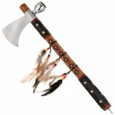 Red Indian Tomahawk Peace Pipe